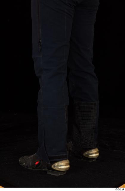 Calf Man White Underwear Muscular Studio photo references