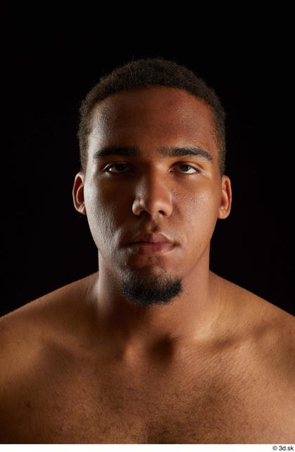Head Man Black Average Studio photo references