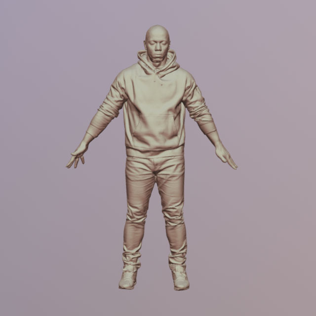 Whole Body White 3D Scans