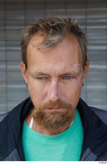 Head Hair Man White Casual Slim Bearded Street photo references