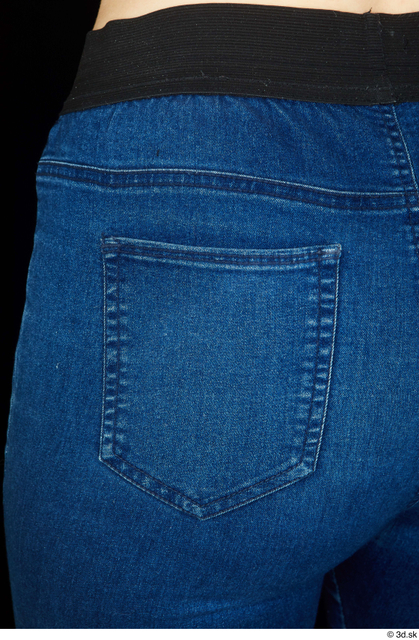 Bottom Woman Jeans Average Studio photo references