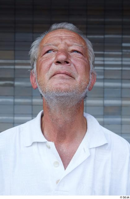 Head Man White Casual Average Street photo references