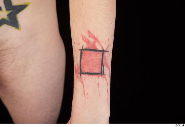 Forearm Man Tattoo Slim Studio photo references