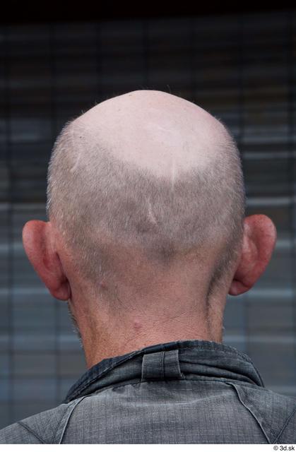 Head Man Casual Slim Bald Street photo references