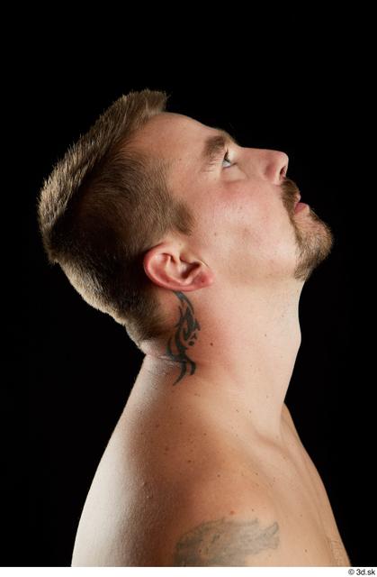 Head Man White Average Studio photo references