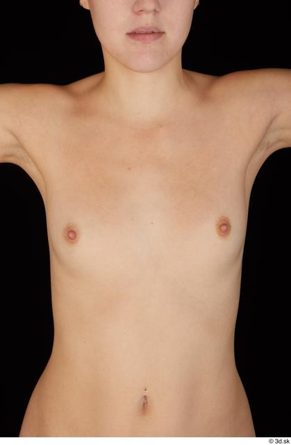 Breast Woman White Nude Slim Studio photo references