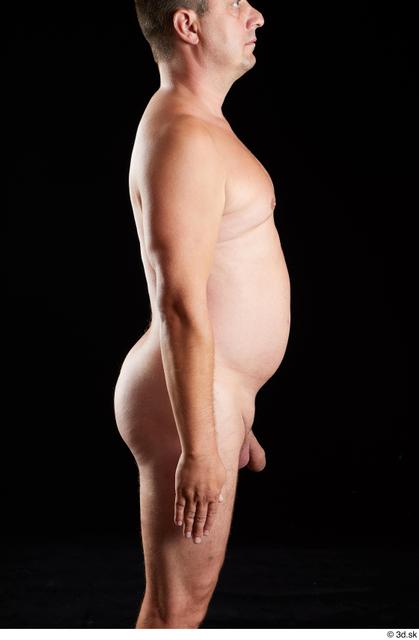 Arm Man White Nude Chubby Studio photo references
