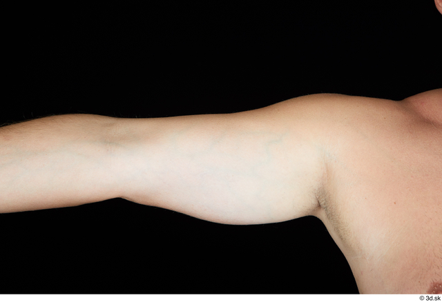 Arm Man White Nude Chubby Studio photo references