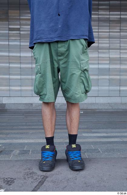 Leg Man White Sports Slim Street photo references