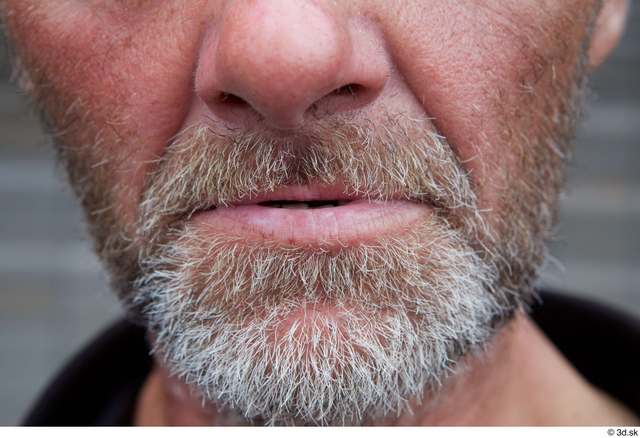 Mouth Man White Casual Slim Street photo references