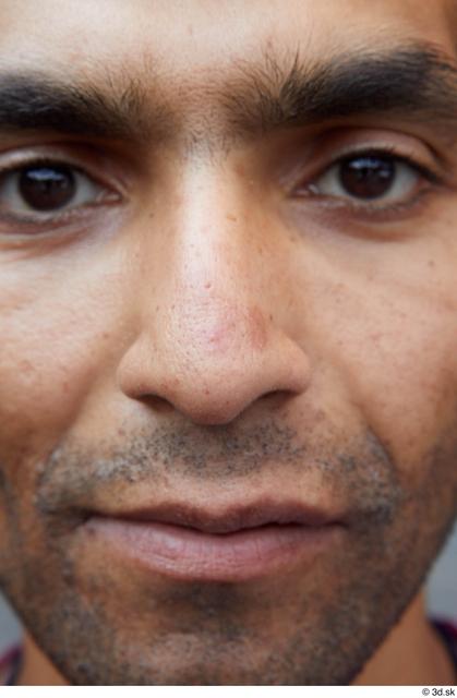 Nose Man White Sports Slim Street photo references