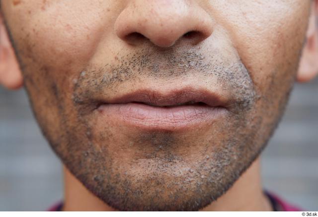 Mouth Man White Sports Slim Street photo references