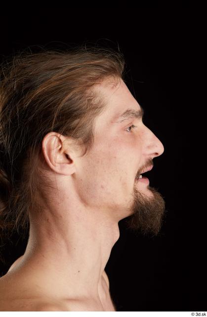 Head Man White Slim Studio photo references
