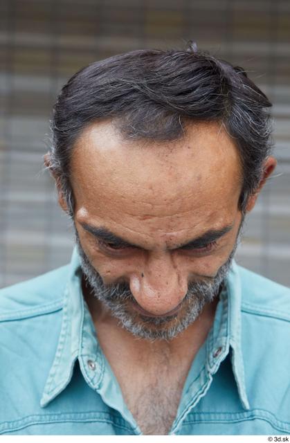 Head Hair Man Casual Slim Bearded Street photo references