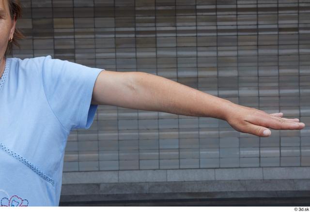 Arm Woman White Casual Average Street photo references