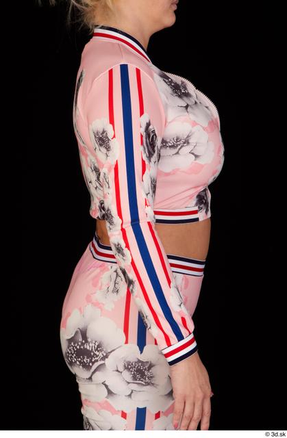 Arm Upper Body Woman White Chubby Studio photo references
