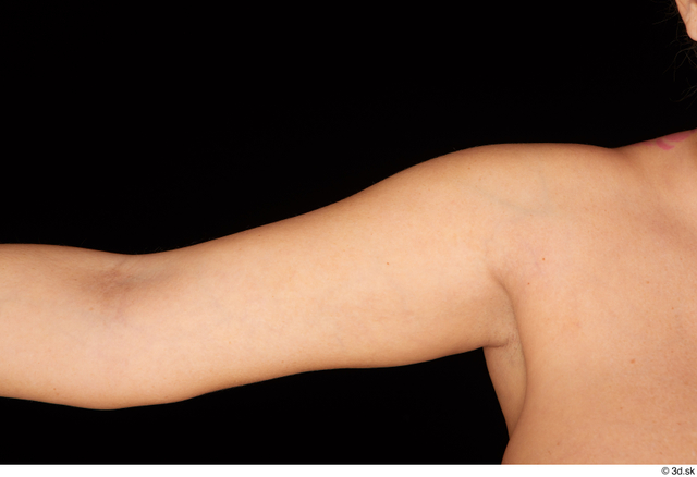 Arm Woman Nude Chubby Studio photo references