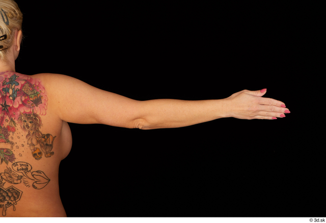 Arm Woman Nude Chubby Studio photo references