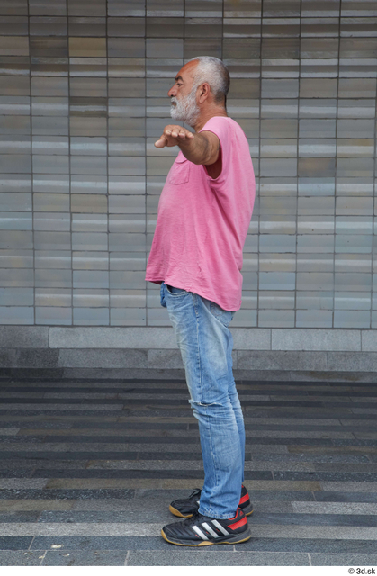 Whole Body Man T poses Casual Average Standing Street photo references