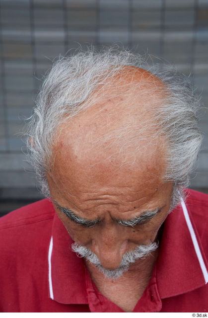Head Hair Man White Casual Average Bearded Bald Street photo references