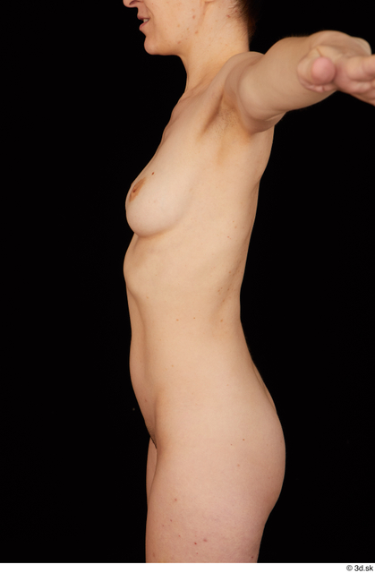 Belly Upper Body Breast Woman White Nude Average Studio photo references