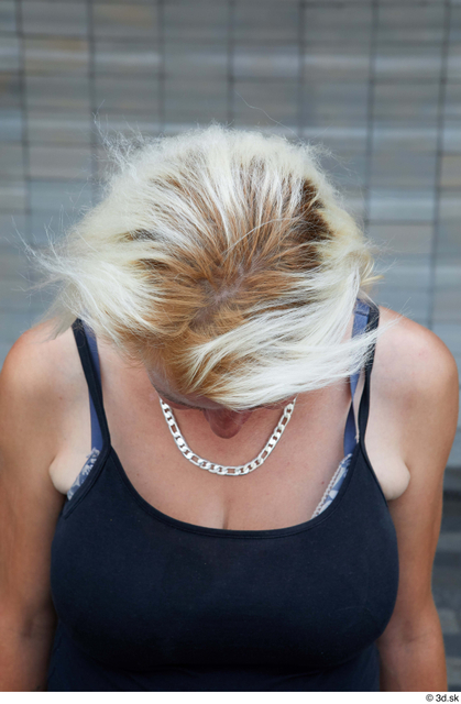 Head Hair Woman White Sports Average Street photo references
