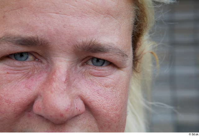 Eye Woman White Sports Average Street photo references