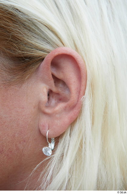 Ear Woman White Sports Average Street photo references