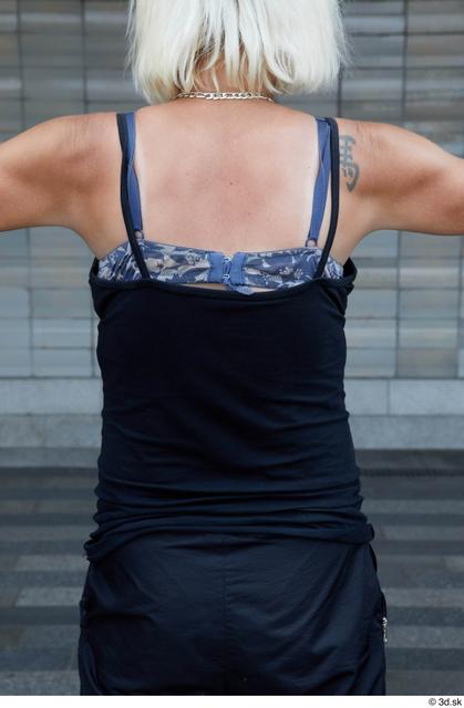 Upper Body Woman White Sports Average Street photo references