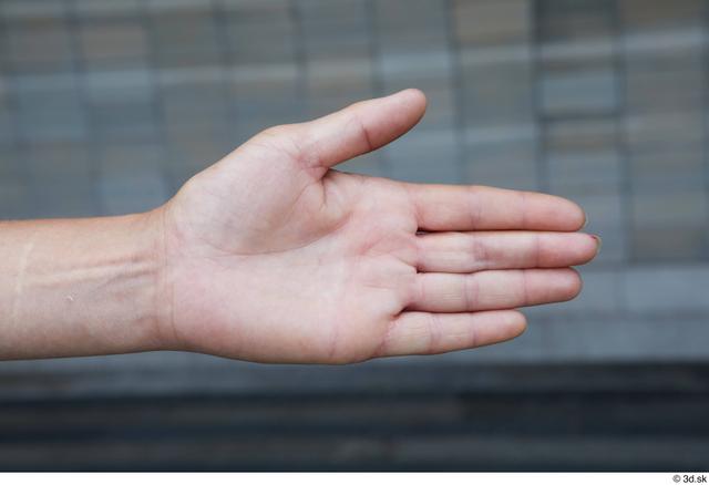 Hand Woman White Sports Average Street photo references