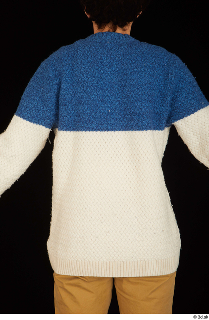 Upper Body Man Sweater Slim Studio photo references