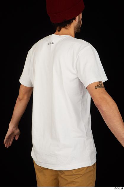 Upper Body Man Shirt Slim Studio photo references