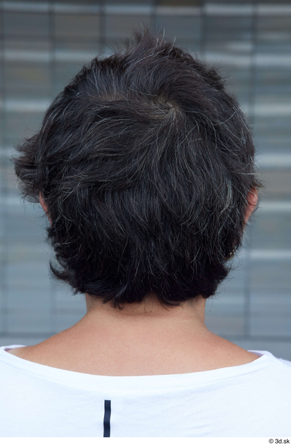 Head Hair Woman White Casual Chubby Street photo references