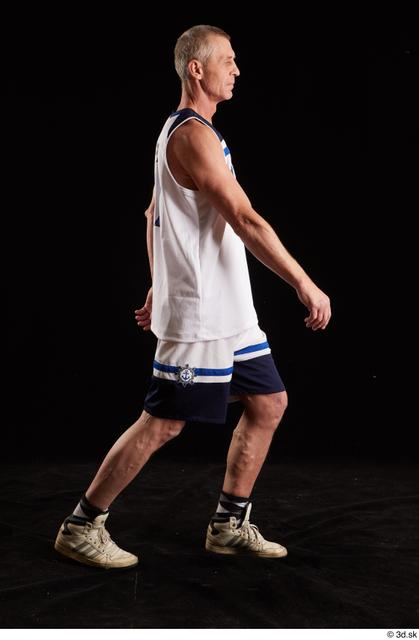 Whole Body Man White Average Walking Studio photo references