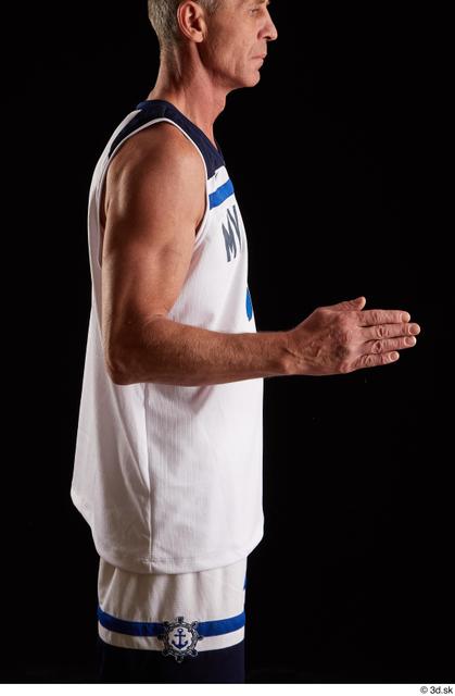 Arm Man White Average Studio photo references