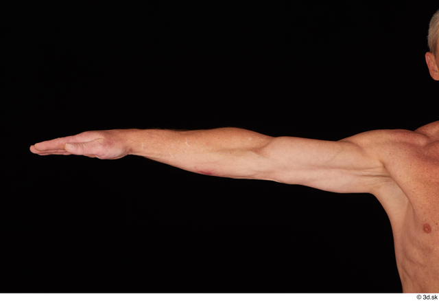 Arm Man White Nude Average Studio photo references