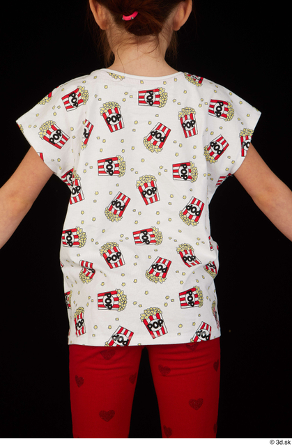 Upper Body Woman White Shirt T shirt Slim Studio photo references
