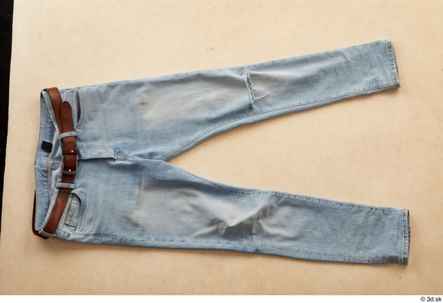 Casual Jeans Belt Clothes photo references