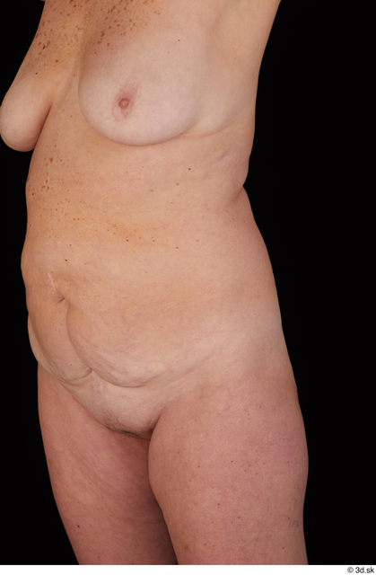 Chest Belly Breast Woman White Nude Chubby Studio photo references