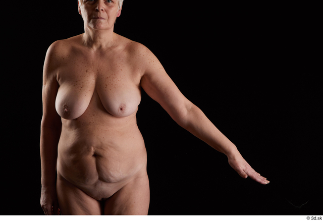 Arm Woman White Nude Chubby Studio photo references