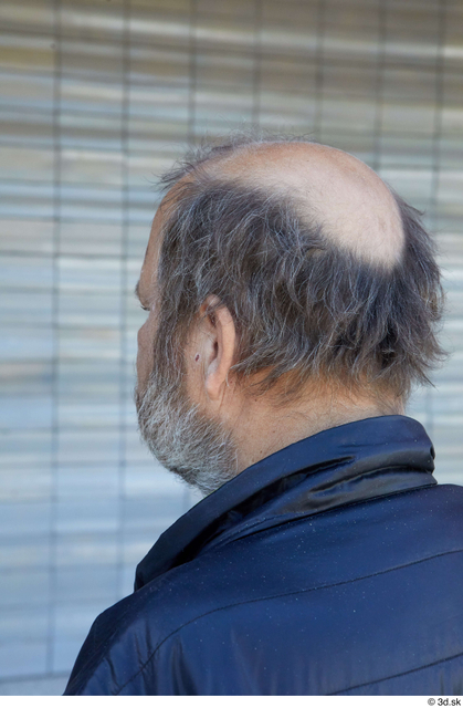 Head Hair Man White Casual Average Bearded Street photo references