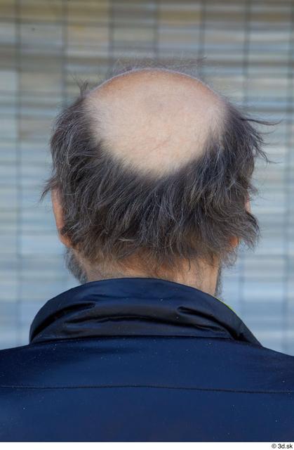 Head Hair Man White Casual Average Bearded Bald Street photo references