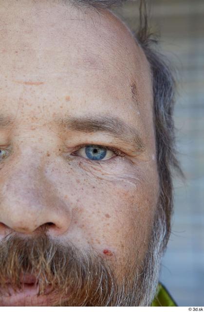Eye Man White Casual Average Bearded Street photo references