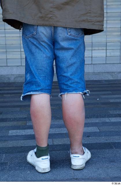 Leg Man White Casual Average Bearded Street photo references
