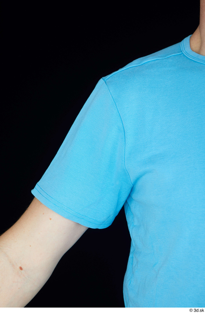 Arm Upper Body Man White Shirt Average Studio photo references