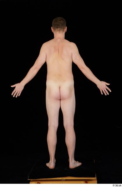 Whole Body Man White Nude Average Standing Studio photo references