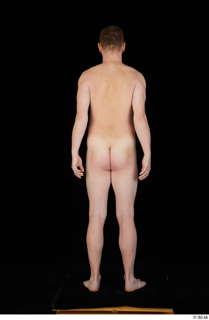 Whole Body Man White Nude Average Standing Studio photo references