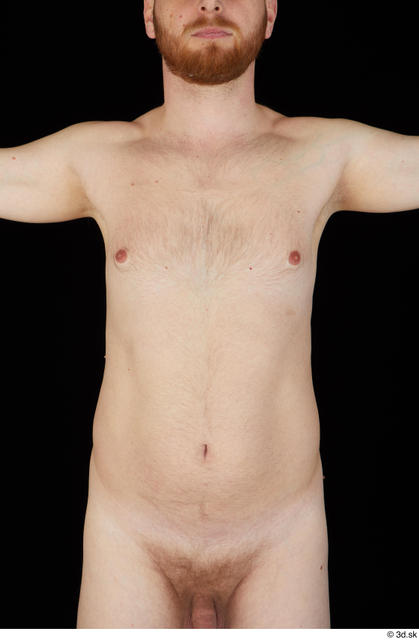 Chest Belly Upper Body Man White Nude Average Studio photo references
