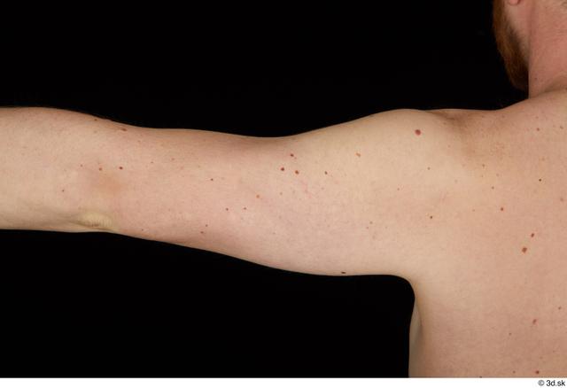 Arm Man White Nude Average Studio photo references
