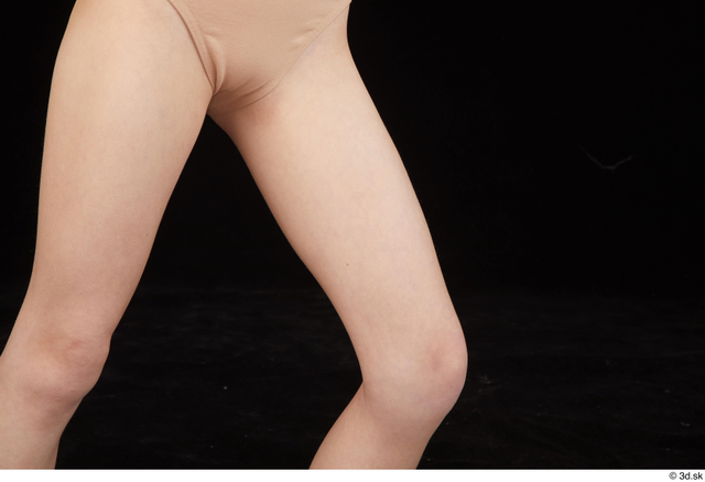 Thigh Woman White Nude Slim Studio photo references
